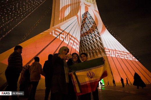 نورافشانی تهران