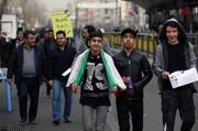 حضور نسلهای متفاوت در چهلمین سالگرد پیروزی انقلاب/ خط و نشان نودیها برای آمریکا+ تصاویر