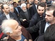عکس/ حضور سران سه قوه در راهپیمایی ۲۲ بهمن