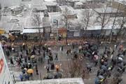 فیلم | جشن چهلمین سالگرد انقلاب در یاسوج زیر بارش برف