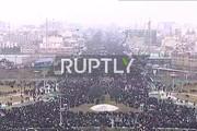 فیلم | انعکاس حضور پرشکوه مردم در راهپیمایی ۲۲ بهمن در شبکه روس