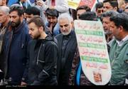 عکس | سردار سلیمانی در راهپیمایی کرمان