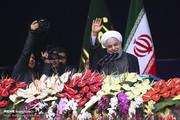 تصاویر | سخنرانی رئیسجمهور در جشن سالگرد پیروزی انقلاب