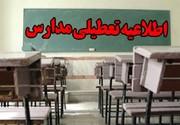 بارش برف مدارس برخی شهرهای آذربایجانغربی را تعطیل کرد