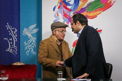 فریدون جیرانی کارگردان در نشست خبری فیلم آشفتگی