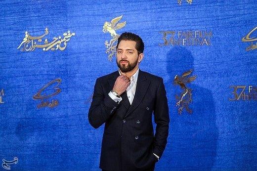 بهرام رادان بازیگر فیلم آشفتگی در آخرین روز سیوهفتمین جشنواره فیلم فجر