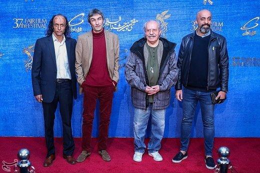 بازیگران فیلم حمال طلا در آخرین روز سیوهفتمین جشنواره فیلم فجر