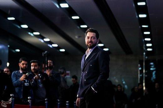 بهرام رادان بازیگر فیلم «آشفتگی» در سیوهفتمین جشنواره فیلم فجر