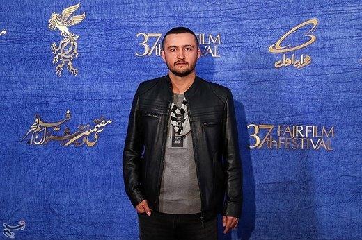 امیرحسین هاشمی بازیگر فیلم «ماجرای نیمروز، رد خون» در سیوهفتمین جشنواره فیلم فجر