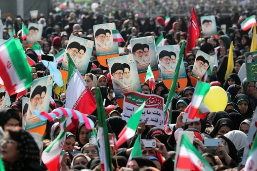 Huge turnout on Islamic Republic 40th anniversary rallies