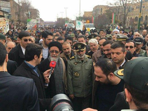 حضور مسئولان در راهپیمایی ۲۲ بهمن+ تصاویر