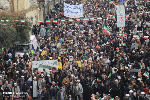 راهپیمایی ۲۲ بهمن در قم