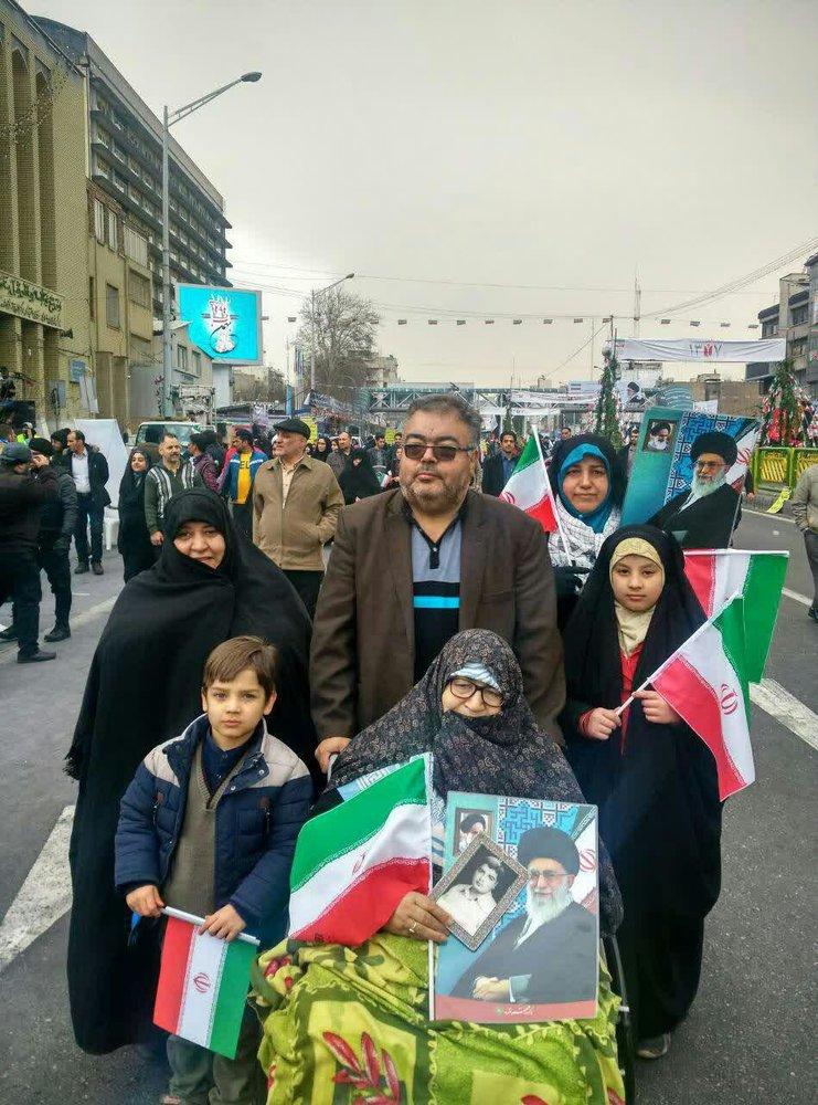 جشن پرشکوه و دشمنشکن ۴۰ سالگی انقلاب اسلامی