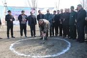 کلنگزنی پروژه تفریحاتی هیجان کابلی در شورابیل