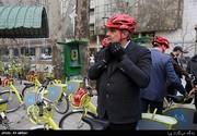 دوچرخهسواری حناچی و شهرداران کلانشهرها تا دفتر جهانگیری