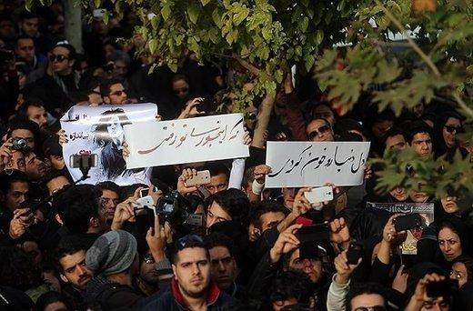 تشییع جنازه پاشایی یک اعتراض سیاسی بود نه اجتماع هنری
