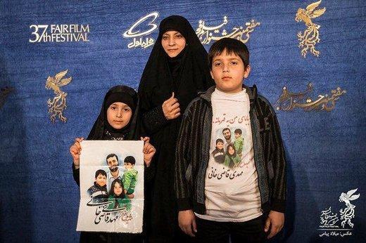 دستنوشته رهبر انقلاب برای «مهمانان متفاوت فرش قرمز جشنواره فجر»