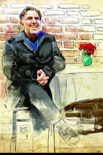 یک فنجان اسپرسو با عباس آخوندی در کافه تهرون