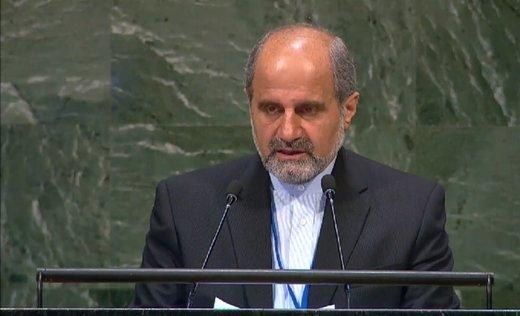 سفیر ایران در سازمان ملل: آمریکا به دنبال تسلط بر نفت ونزوئلا با کودتاست