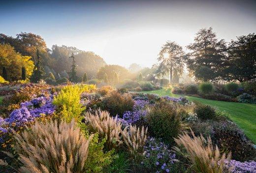 باغهای زیبا در Bressingham انگلستان