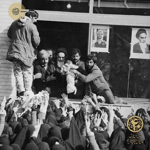 دیدارهای مردمی پس از بازگشت امام خمینی(ره) به میهن