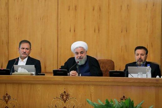 الرئیس روحانی: مؤامرات امریكا ضد ایران مآلها الفشل