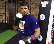 مراسم وزنکشی کاپیتان اسبق تیم ملی کاراته در مسابقات MMA انجام شد/ الهامی فردا با فایتر بلاروس مبارزه میکند
