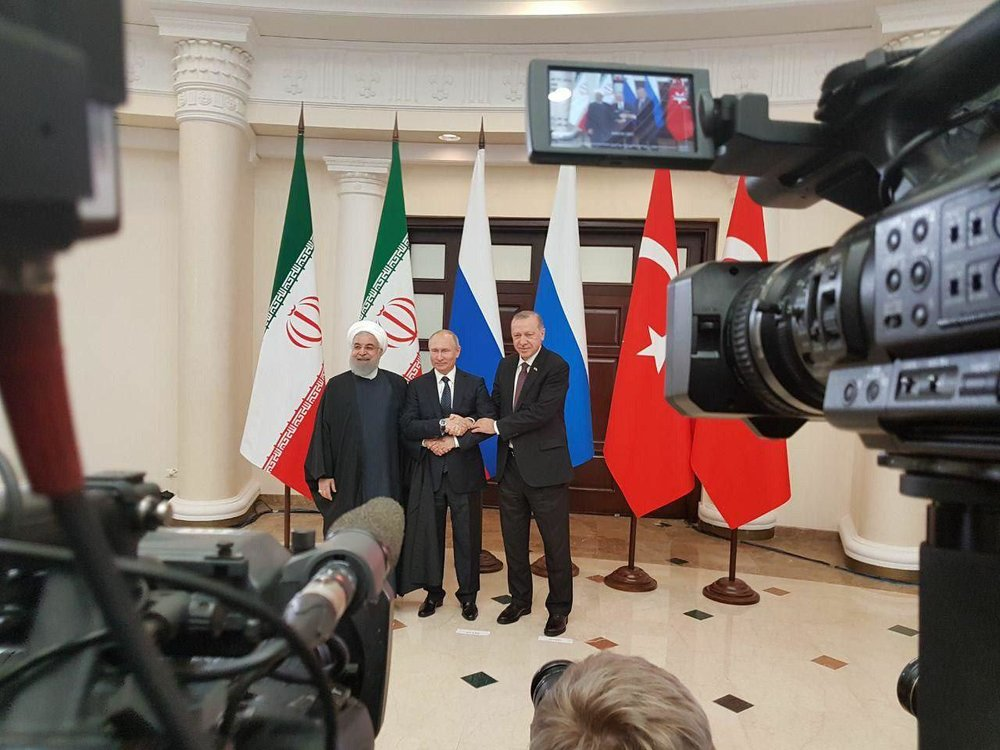 Iran, Russia, Turkey voice commitment to Syrian sovereignty, independence