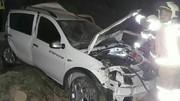واژگونی خودرو در آزاد راه تهران- قم/ راننده ساندرو فوت کرد
