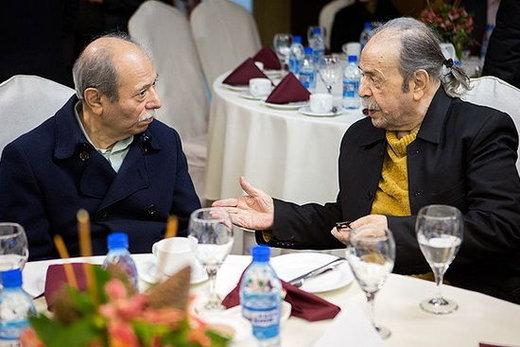 محمدعلی کشاورز با علی نصیریان دیدار تازه کرد/ عکس