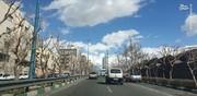 عکس | آسمانی که کمتر ممکن است در تهران ببینید
