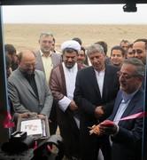 افتتاح چاه و مخزن جدید دهستان بیاض شهرستان انار