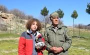 دستان پرمهر نوجوان لرستانی ناجی پرنده شکاری شد