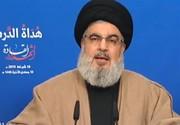 نصرالله: ایران قویتر از آن است که کسی بخواهد با جنگ آن را هدف قرار بدهد