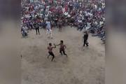 فیلم   کتککاری به قصد کشت در بوکس سنتی نیجریه!