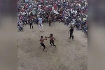 فیلم | کتککاری به قصد کشت در بوکس سنتی نیجریه!