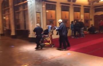 رویدادی عجیب هنگام اجرای نمایش/ هرج و مرج پس از شلیک گلوله روی صحنه «همیلتون»