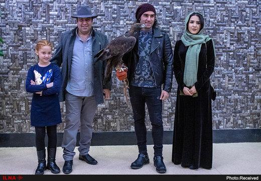 حضور جنجالی رضا یزدانی و عقابش در اکران مردمی