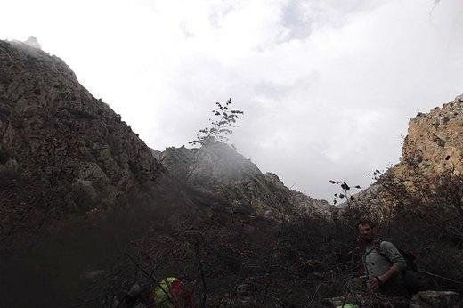 نجات ۴ کوهنورد گرفتار از مرگ