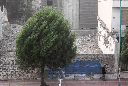 جزییاتی از بارش برف و باران از شمال تا جنوب/ وزش باد شدید در تهران