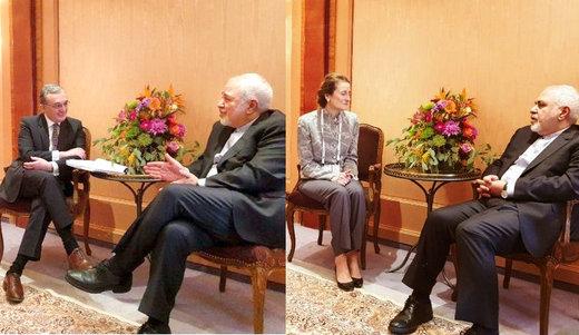 Iran's Zarif meets Armenian counterpart, UNICEF chief