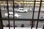 فیلم | تحصن طلبکاران قالیباف مقابل شورای شهر