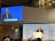 ظریف ینتقد سیاسات البیت الأبیض فی الانسحاب من الاتفاق النووی والضغط علي أوروبا