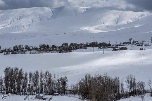 طبیعت برفی آذربایجان شرقی