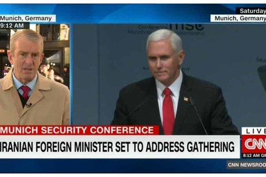 سیانان: دولت آمریکا در کنفرانس مونیخ پس زده شد