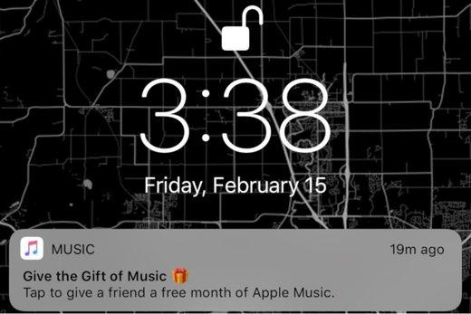 یک ماه رایگان هدیه مشترکین اپل موزیک به دوستان