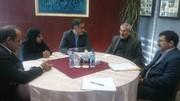 نشست استاندار و مجمع نمایندگان استان چهارمحالوبختیاری با رئیس بنیاد مستضعفان