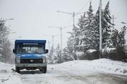 بارش سنگین برف در ۹ استان کشور/ تردد با زنجیرچرخ الزامی است