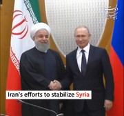 Iran's efforts to stabilize Syria