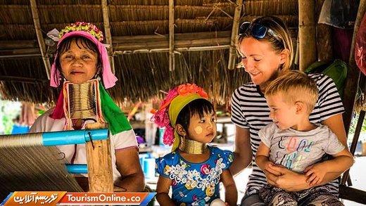 سفر خانواده سه نفره به 24 کشور